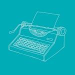outline typewriter