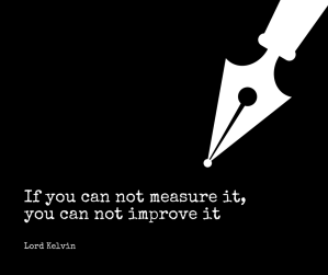 quote if you can not measure